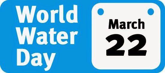 World Water Day March 22.